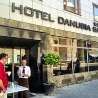Photo taken at Hotel Danubia Gate by Miro S. on 6/21/2013