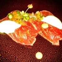 Photo taken at Restaurante Lasarte by Jesús M. on 1/28/2013