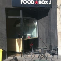 Photo taken at Food Box Co. by Maher S. on 9/24/2013