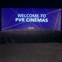 Photo taken at PVR Cinemas by Prateek B. on 10/15/2012