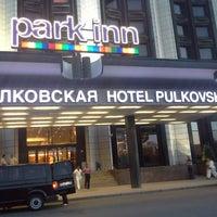 Снимок сделан в Park Inn by Radisson Pulkovskaya пользователем Alexandra🍒 F. 6/21/2013