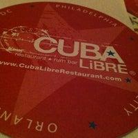Foto tomada en Cuba Libre Restaurant & Rum Bar - Orlando por Cecilia el 11/10/2012