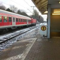 Photo taken at Bahnhof Pinneberg by Marvin on 12/15/2012
