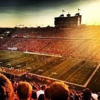 Photo taken at Jack Trice Stadium by Trent P. on 9/16/2012