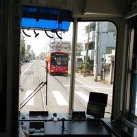 Photo taken at Tezukayama-3chōme Station by Tatsuya ARASE on 5/24/2014