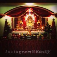 Photo taken at Vihara Buddhayana by RinzQF on 3/12/2013