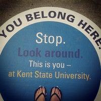Photo taken at Kent State University by Kristina C. on 6/2/2013