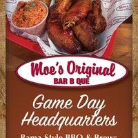 Photo taken at Moe's Original BBQ by Moe's Original Bar B Que on 10/8/2014