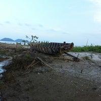 Photo taken at Fishing Bay Resort, Mersing by Syakirin A. on 3/10/2013