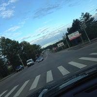 Photo taken at Остановка «Солнечный микрорайон» by Эльмира on 8/21/2014