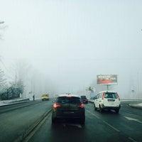 Photo taken at Остановка «Солнечный микрорайон» by Эльмира on 11/16/2014