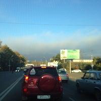 Photo taken at Остановка «Солнечный микрорайон» by Эльмира on 9/15/2014