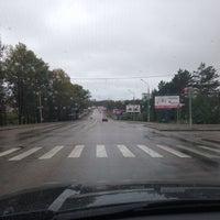 Photo taken at Остановка «Солнечный микрорайон» by Эльмира on 8/28/2014