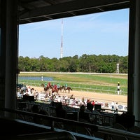 Photo taken at Tampa Bay Downs by Eric B. on 2/27/2013
