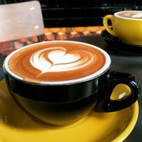 Photo taken at Bricklin Cafe Bar by Carisse K. on 12/24/2014