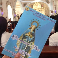 Photo taken at Immaculate Conception Parish Church by Miguel M. on 4/4/2018