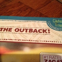 Photo taken at Outback Steakhouse by Carmen on 1/16/2013