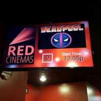 Photo taken at RED Cinemas - Restaurant Entertainment District - Stadium 15 by Jennifer K. on 2/15/2016