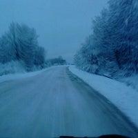 Photo taken at Nis Petrol - Topove šupe by Nena B. on 1/19/2013