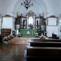 Photo taken at St. Jerome Emiliani & Sta. Susana Parish by Hydz A. on 9/16/2012
