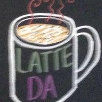 Photo taken at Latte Da Coffeehouse & Wine Bar by Clint B. on 4/23/2014