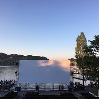 Photo taken at Openair Kino Luzern by Nik S. on 7/16/2016