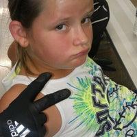Photo taken at Greensboro Batting Center by Rebecca S. on 9/15/2012