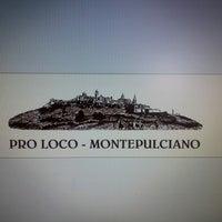 Foto scattata a pro loco montepulciano da Ufficio Turistico M. il 10/24/2012