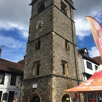 Photo taken at St Albans Clock Tower by Gareth M. on 6/24/2017