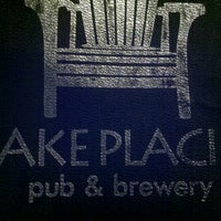 Photo taken at Lake Placid Pub & Brewery by Joe L. on 11/17/2012