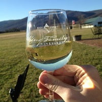 Photo taken at King Family Vineyards by Tyler on 1/20/2013