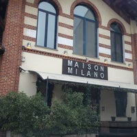 Photo taken at Maison Milano by Miciabau on 12/23/2012