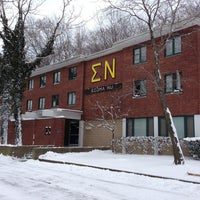 Photo taken at Sigma Nu by Tommy on 1/25/2013
