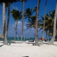 Photo taken at Meliá Caribe Tropical All Inclusive Hotel by Anton L. on 10/4/2012