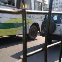 Photo taken at Shyamoli Bus Stand by Anwar K. on 10/21/2012