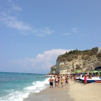 Photo taken at Lido Mare Grande by Luigi C. on 8/21/2013