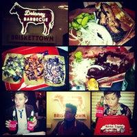 Photo taken at Delaney Barbecue: BrisketTown by April Joy C. on 11/18/2012
