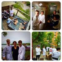 Photo taken at Njuta spa & klinik by Ulrica S. on 6/2/2015