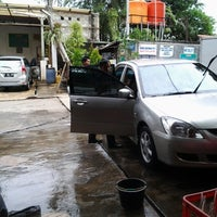 Photo taken at CM 99 Carwash by ARIEF W. on 4/13/2013