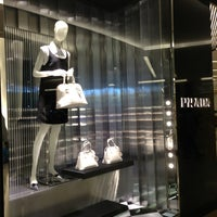 Photo taken at Prada by LENA on 1/26/2013
