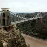 Photo taken at Clifton Suspension Bridge by Andrew K. on 3/3/2013