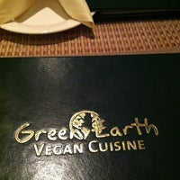 Photo taken at Green Earth Vegan Cuisine by Lin-duhh!! . on 3/30/2013