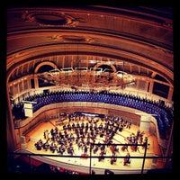 Foto scattata a Symphony Center (Chicago Symphony Orchestra) da Anas A. il 11/17/2012