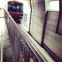 Photo taken at Osaka Monorail Dainichi Station by jac 0. on 1/6/2013