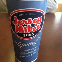 Photo taken at Jersey Mike's Subs by Shelly on 10/26/2012