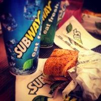 Photo taken at Subway by Nayhira B. on 4/18/2013