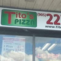 Photo taken at titos pizza by David M. on 8/2/2013
