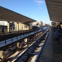 Photo taken at metro Vykhino by Dmitry G. on 1/25/2013