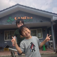 Photo taken at CAMPica by Ryo Y. on 8/10/2013