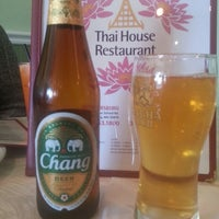 Photo taken at Thai House by Charles D. on 12/31/2013